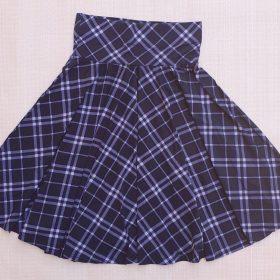 חצאית אגם הדפס 1