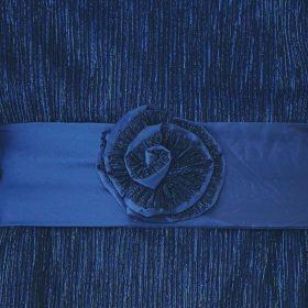 שמלת אלומה כחול מנצנץ