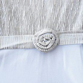 שמלת דוריה שמנת לבן
