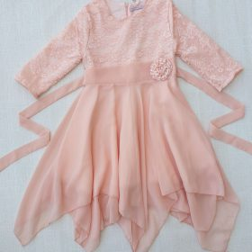 שמלת נופר אפרסק