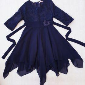 שמלת נופר כחול ניבי
