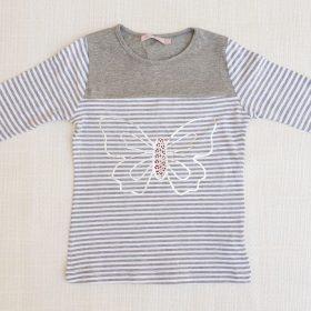 חולצת אמיליה אפור
