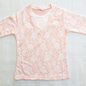 חולצת יסמין אפרסק