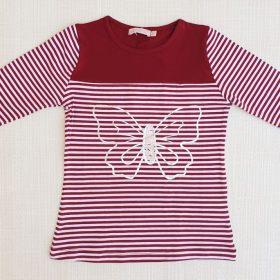 חולצת אמיליה בורדו