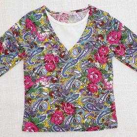 חולצת איילת הדפס 2