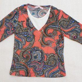 חולצת איילת הדפס 3