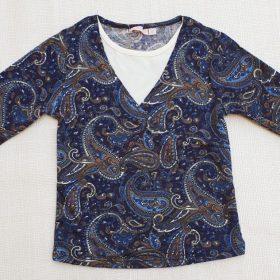 חולצת איילת הדפס 4