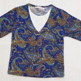 חולצת איילת הדפס 5