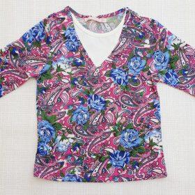 חולצת איילת הדפס 6