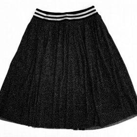 חצאית אמיליה שחור נצנצים