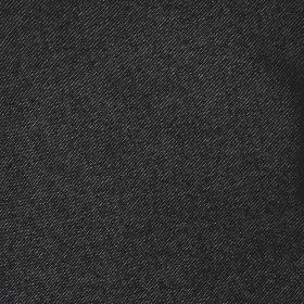 חצאית דמוי ג'ינס עידית שחור
