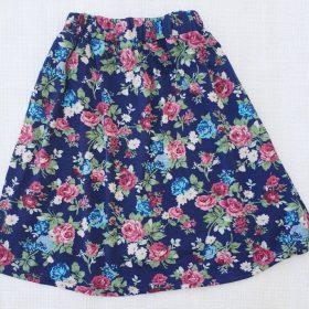 חצאית דפנה הדפס 1