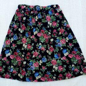 חצאית דפנה הדפס 3