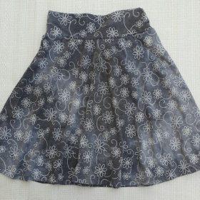 חצאית טאי דאי נעמה אפור