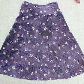 חצאית טאי דאי נעמה סגול