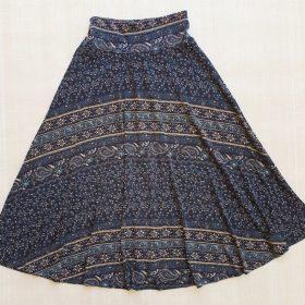 חצאית מרלו מקסי הדפס 2