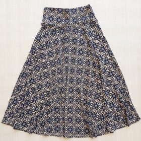 חצאית מרלו מקסי הדפס 1