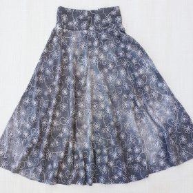 חצאית סביון אפור