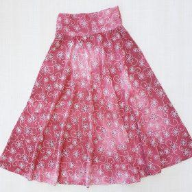 חצאית סביון ורוד