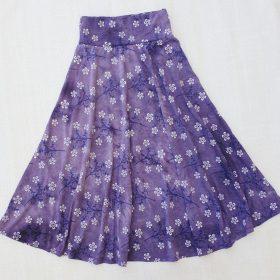 חצאית סביון סגול