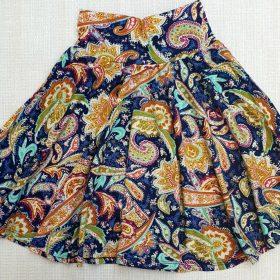 חצאית עינת הדפס 1