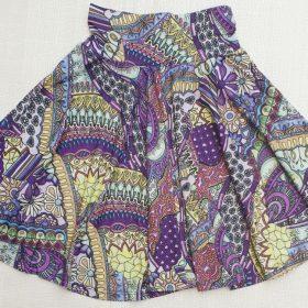חצאית עינת הדפס 2
