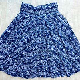 חצאית עינת הדפס 4