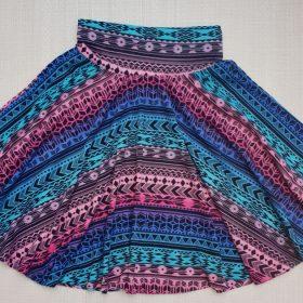 חצאית עינת הדפס 5