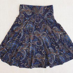 חצאית צהלה הדפס 1