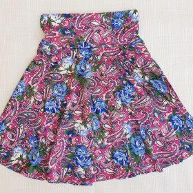 חצאית צהלה הדפס 2
