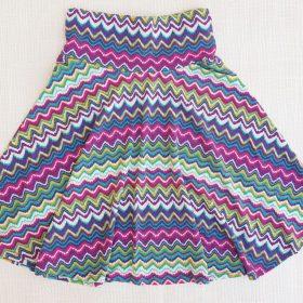 חצאית צהלה הדפס 3