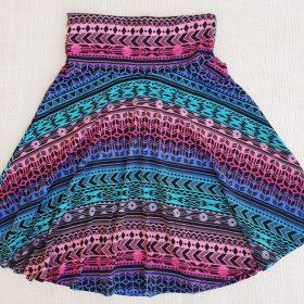 חצאית צהלה הדפס 4