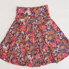 חצאית צהלה הדפס 5
