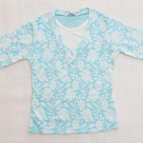 חולצת יסמין טורקיז