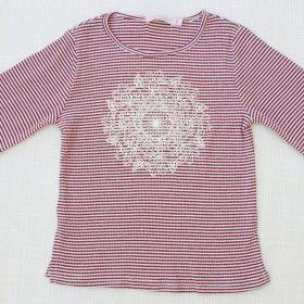 חולצת רוז יין