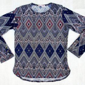 חולצת דקלה הדפס 1