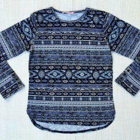 חולצת דקלה הדפס 7