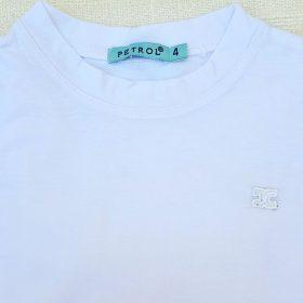 חולצת מנור ריקמה לבנה