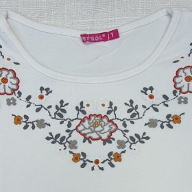 חולצת טליה לבן