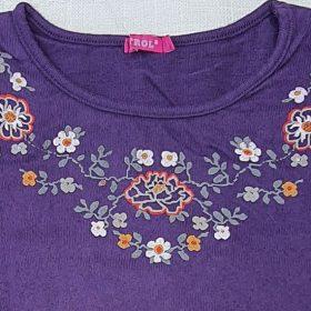 חולצת טליה סגול אינדיגו