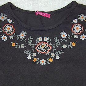 חולצת טליה שחור
