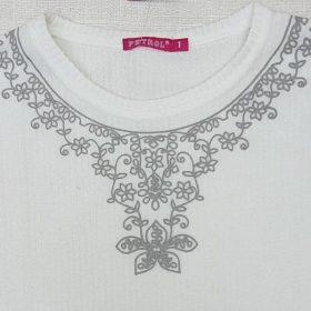חולצת מור לבן
