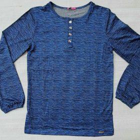 חולצת נוי כחול