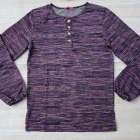 חולצת נוי סגול אינדיגו