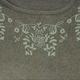 חולצת נורית ירוק זית