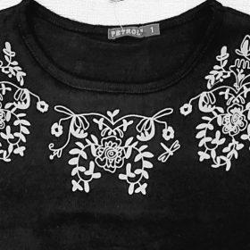 חולצת נורית שחור