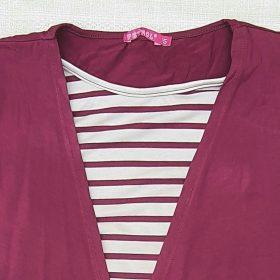 חולצת מאיה יין 3475