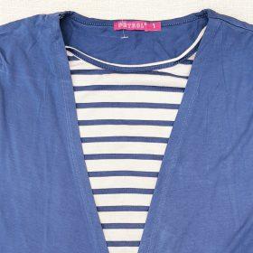 חולצת מאיה כחול טייס