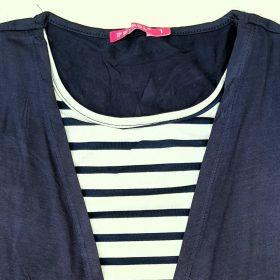 חולצת מאיה כחול נייבי