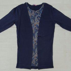 חולצת נטע כחול נייבי